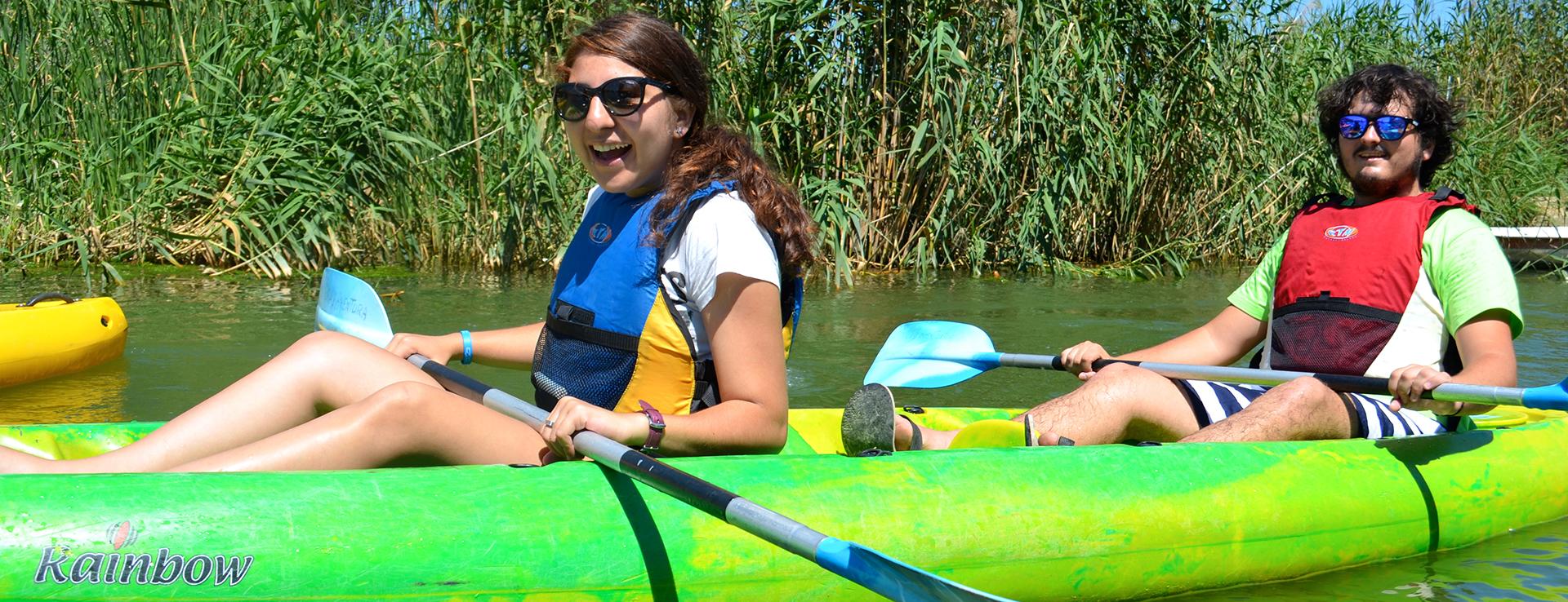 Kayak o canoa en Isla de Buda
