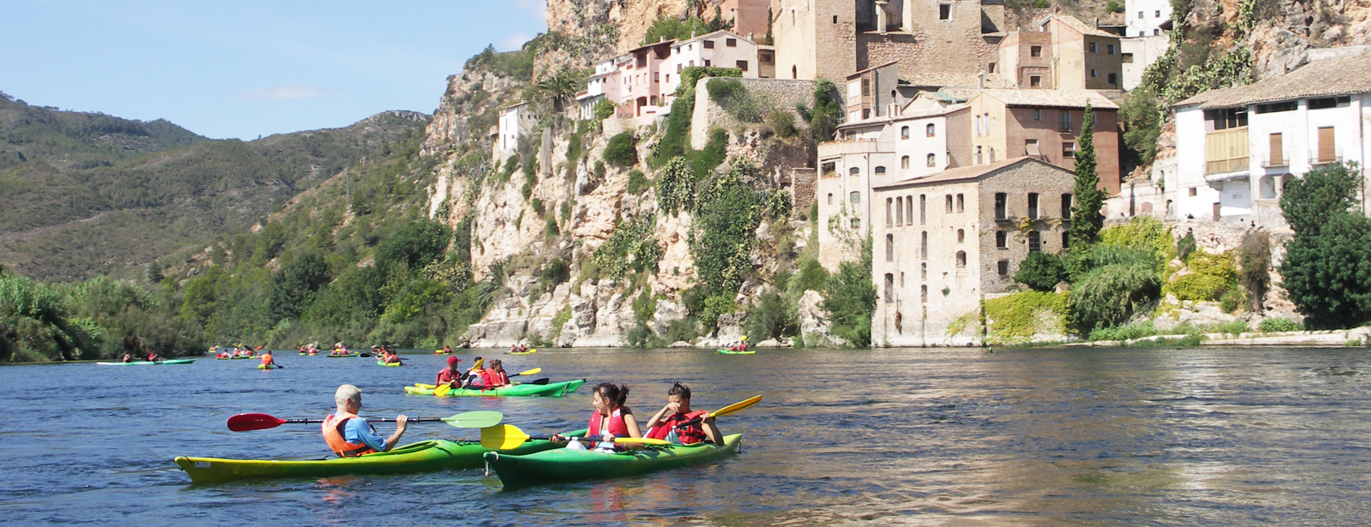 Cursos de Kayak o canoa en el Delta del Ebro