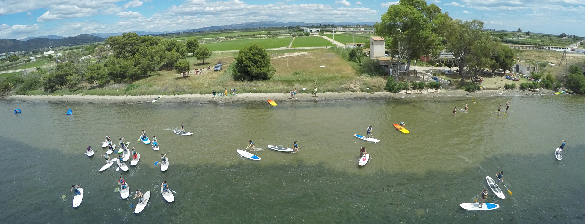 Cursos de Paddle Surf en el Delta del Ebro