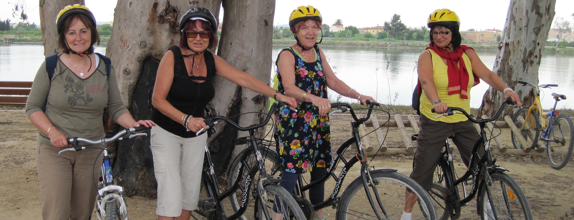 Excursión en bicicleta por el Delta del Ebro