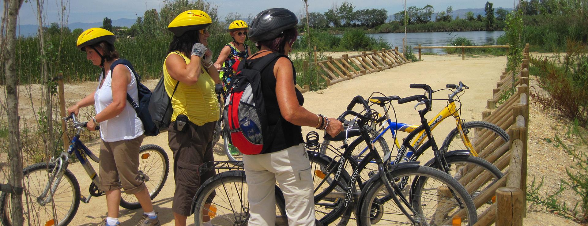 Cicloturismo en el Delta del Ebro