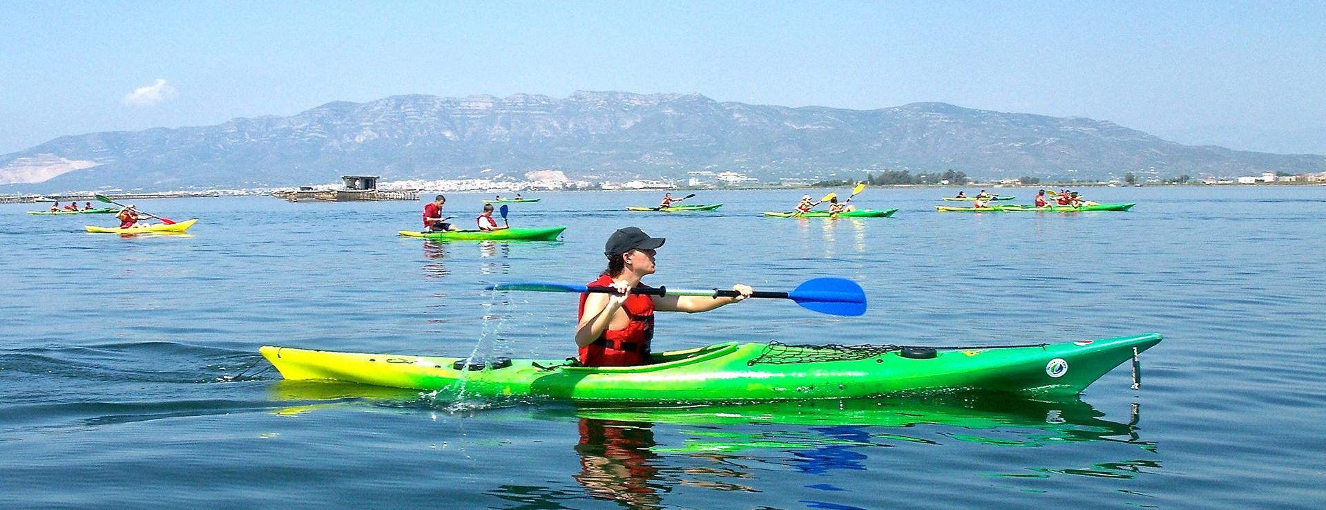 Ruta en kayak por la bahía de los Alfacs