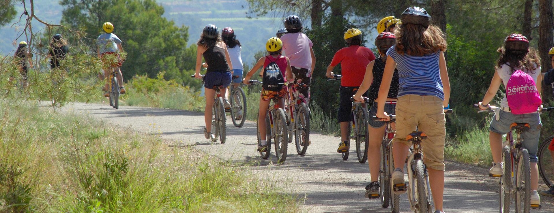 Cicloturismo por la Vía Verde Val de Zafan
