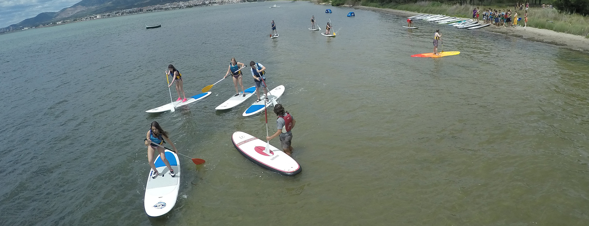 Paddle Surf en Sant Carles de la Ràpita