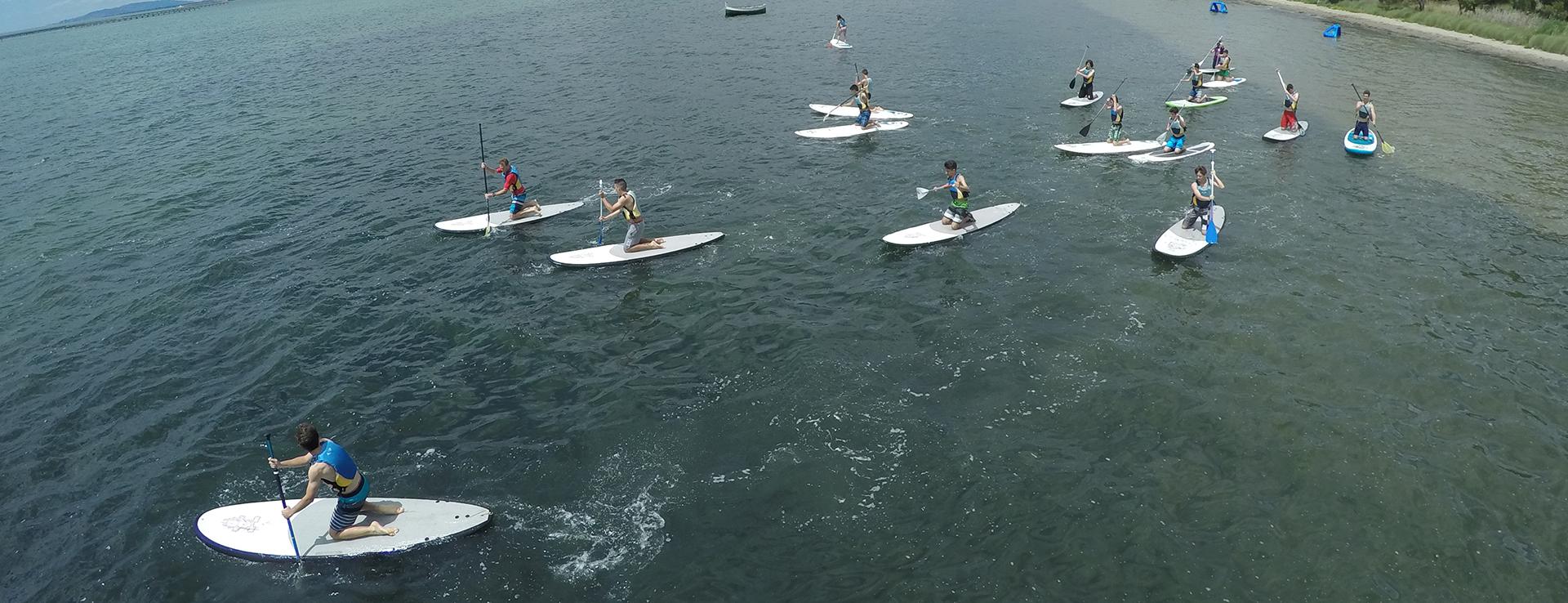 Paddle Surf ruta las Mejilloenras en el Delta del Ebro