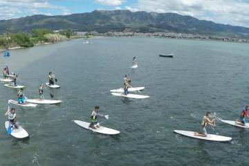 Paddle Surf en el Parque Natural del Delta del Ebro