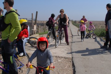 Excursiones en bicicleta por las lagunas del Delta del Ebro