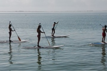 Ruta en Paddle Surf por las playas de Sant Carles de la Ràpita