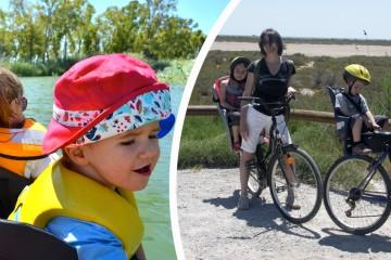 Kayak y cicloturismo por el Delta del Ebro