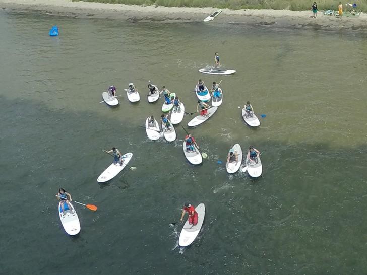 Ruta en Paddle Surf por la Bahía de los Alfacs