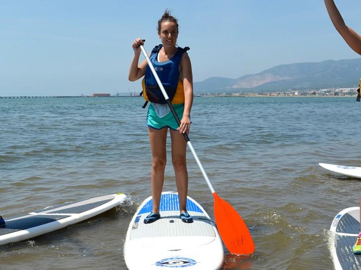 Paddle surf Delta del Ebro