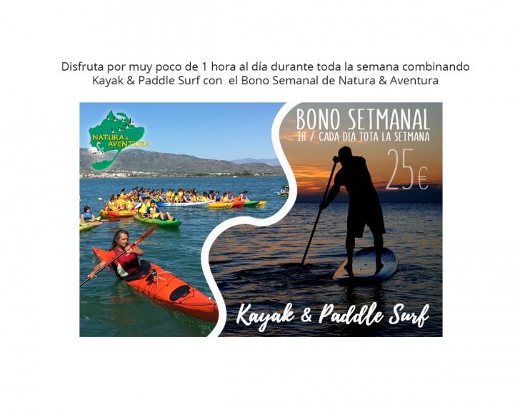 Kayak & Paddle Surf en el Delta