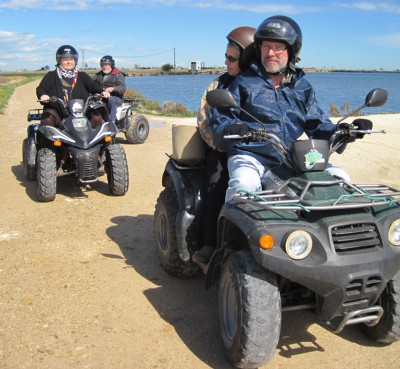 Tours and rental quads in the Delta del Ebro