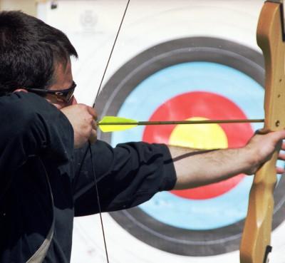Archery in the Delta del Ebro