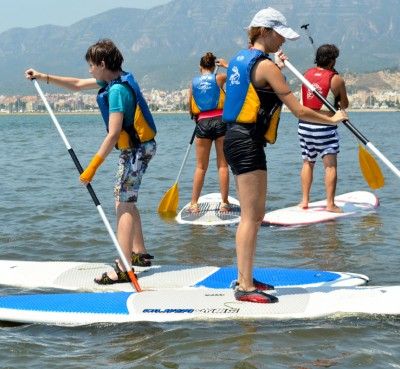 Paddle Surf Courses in the Delta del Ebro